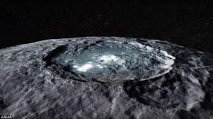 Ceres'taki Parlak Alanlar, Eski Okyanus Alanları Mı?