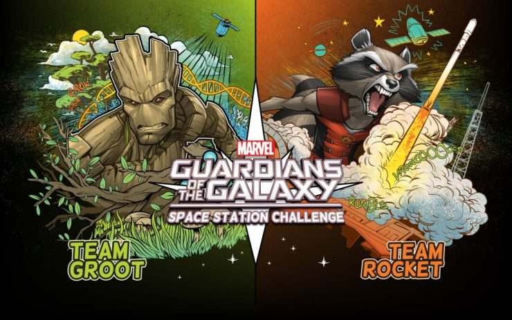Marvel Guardians of the Galaxy Space Station Challenge