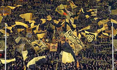 Borussia Dortmund flags