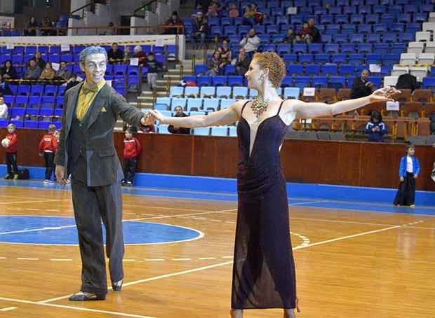 Gliga Mirona és Chiflicli Roman, sporttánc