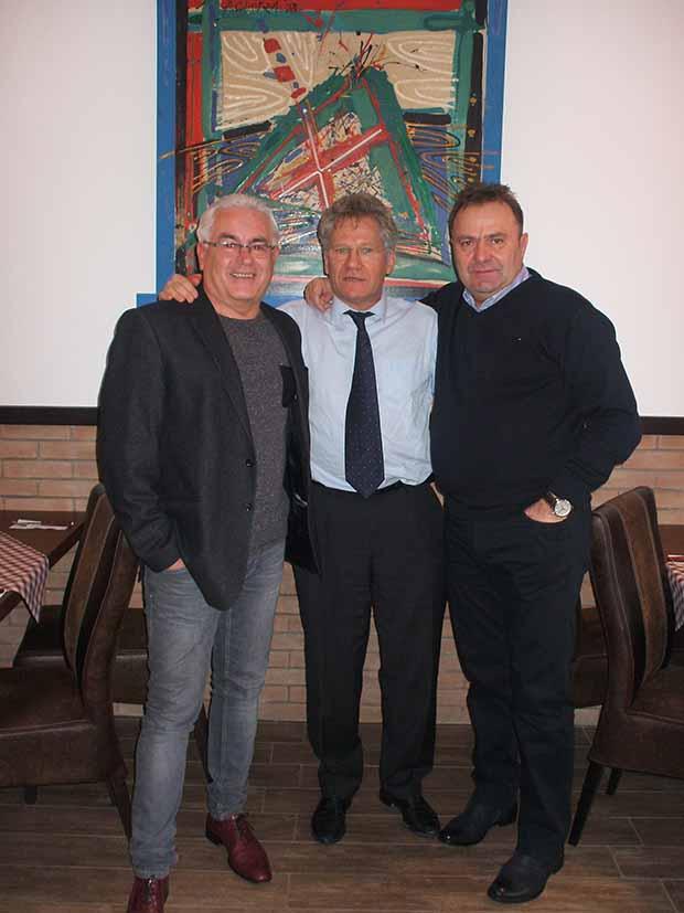 Három jó barát-Kanyaró Attila, Bölöni és  Petris