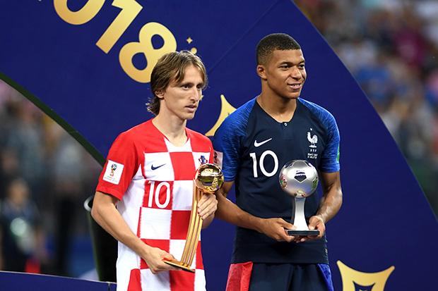 Luka Modric az Aranylabdás, Kylian Mbappé a vb. legjobb fiatal játékosa / fotó: www.csakfoci.hu