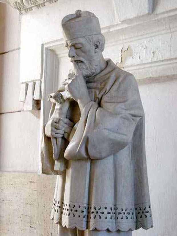 Nepomuki Szent Janos szobor