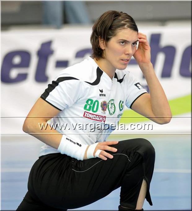 Simona Spiridon edzés közben