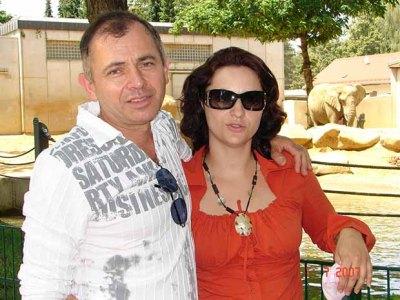 Tóth Gyula és lánya Gabriella