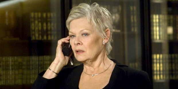 "This undated photo supplied by Sony Pictures shows Judi Dench playing the head of MI6, ""M,"" in the newest James Bond film ""Casino Royale.""  Two agents of Britain's real MI6 spy agency revealed some of the secret service's secrets in a rare BBC radio broadcast Wednesday, Nov. 15, 2006 . Among the nuggets of the revelations, the chief of MI6 is known as ""C,"" not ""M,"" one of the agent said. (AP Photo/Sony Pictures, Jay Maidment)"