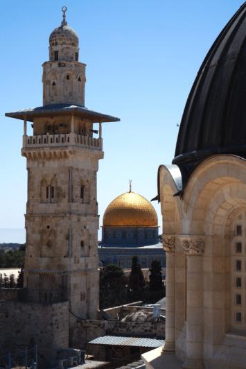 Jérusalem, où s'entremêlent les religions.