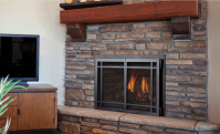 Modern, Contemporary & Direct Vent Fireplace Gas Inserts