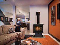 Birchwood 20 Free Standing Gas Fireplaces   Direct Vent ...