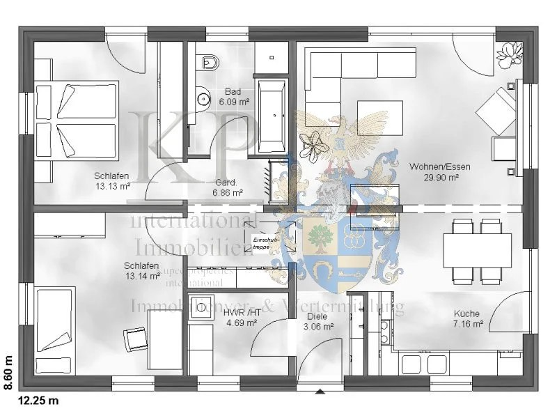 grundriss bungalow 1