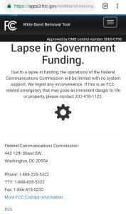 20190104 203632 - Aplicaciones de radioaficionados en el limbo a medida que continúa el cierre parcial de la FCC