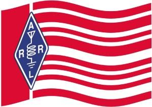 ARRL Flag waving Large 49 - IEEE Microwave Teoría y Técnicas de la Sociedad de Honores Ulrich Rohde, N1UL