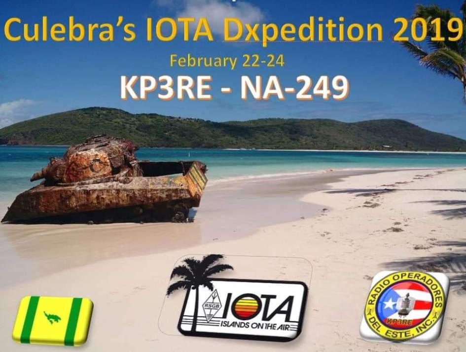 FB IMG 1547216760459 - Band Plan para el IOTA en Culebra Dxpedition 2019