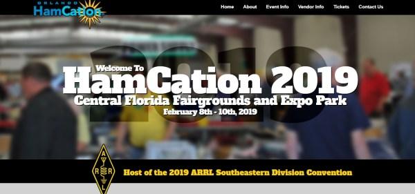 HAMCANTION - Orlando HamCation® este fin de semana es la Convención de la División Sudeste de ARRL