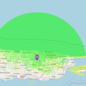 cobertura 449.200 300x300 - REPETIDOR DMR de KP3AV cubriendo el Norte de Puerto Rico
