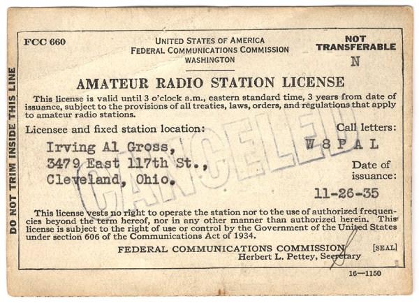 W8PAL - Clases de licencia de radioaficionados