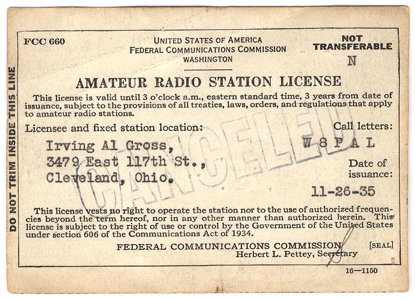Clases de licencia de radioaficionados, KP3AV Systems