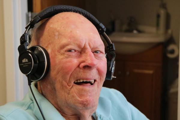 IMG 0452 - El radioaficionado estadounidense más antiguo conocido, Cliff Kayhart, W4KKP, SK a los 109