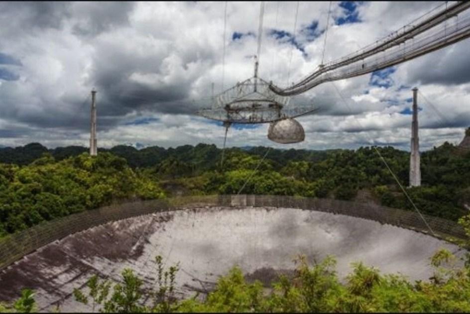 Falla un segundo cable principal en el Observatorio de Arecibo, KP3AV Systems