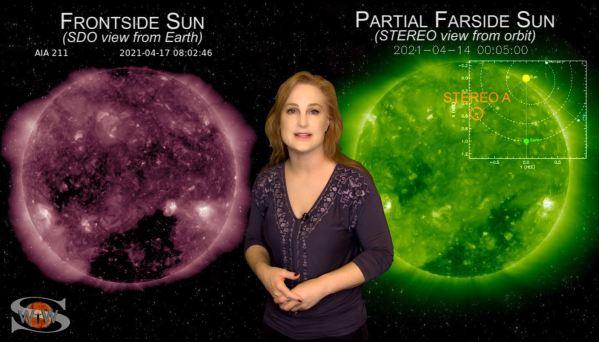 Capture1 - Grandes llamaradas regresan con tormentas solares dirigidas a la Tierra y Marte
