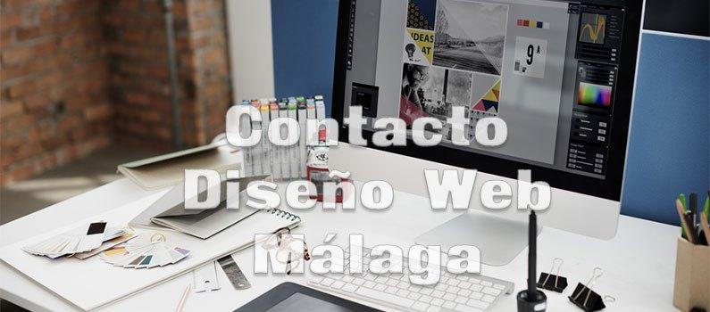 contacto diseño web málaga