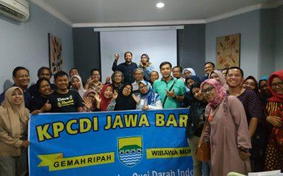 Untuk Membangkitkan Semangat Pasien Cuci Darah, KPCDI Gelar Kopi Darat di Bandung