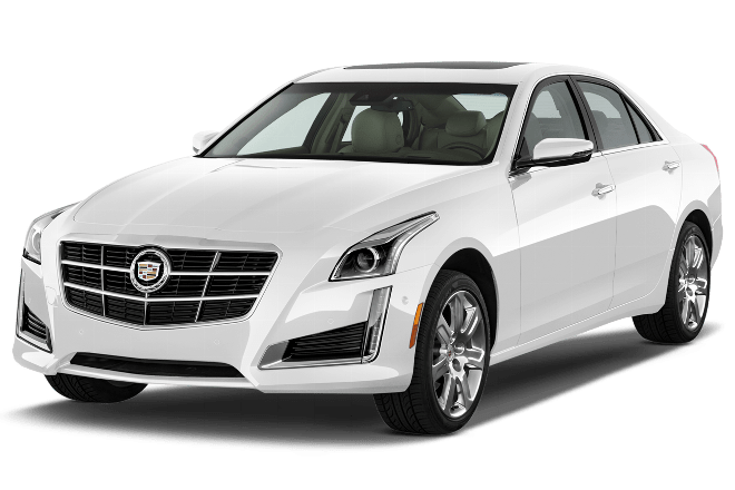 2014 White Srx Cadillac