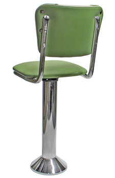 chair and stool heights cafe chairs johannesburg soda fountain counter - bolt down with v backrest