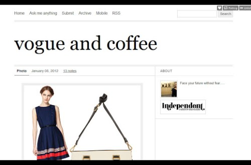 Vogue & Coffee, KPFUSION