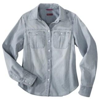 Target-Merona-Denim-Shirt-$22.99