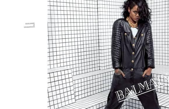 Rihanna-BalmainSS14