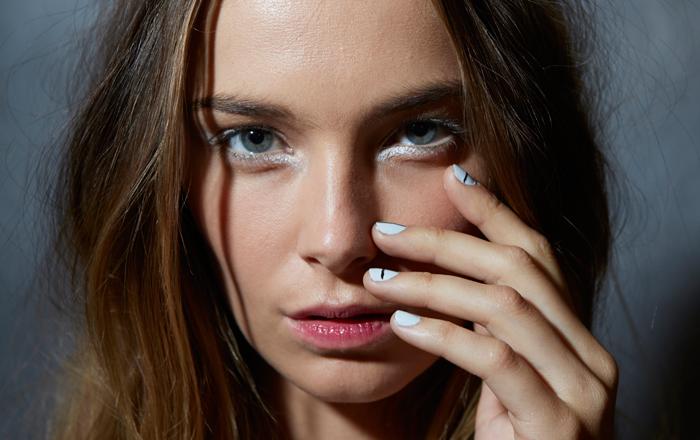 Tibi-Spring-2014-White-Eyeliner