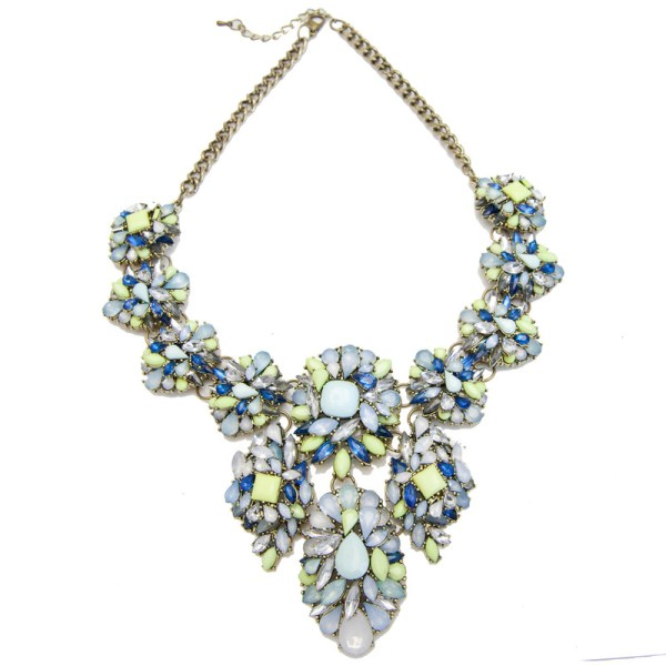 Minty Deluxe Statement Necklace, $88