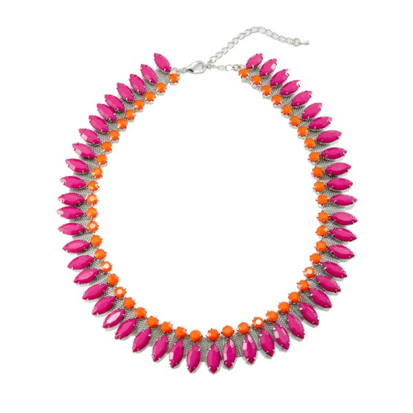 Pink Highlighter Necklace, $24