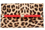 DVF 440 Calf Hair Envelope Clutch Bag $348