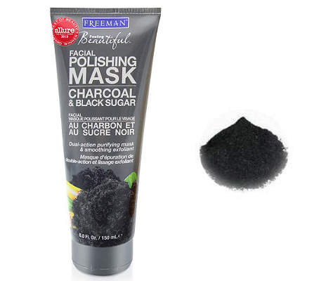 Freeman Charcoal and Black Sugar Facial Polishing Mask-2