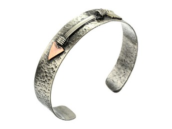Gypsy SOULE Mixed Metal Arrow Cuff $80