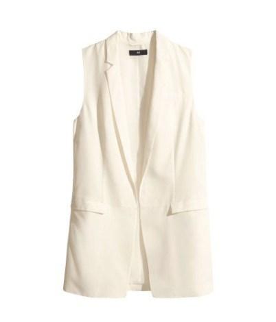 H+M Long Vest-$35