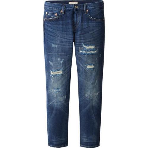 Uniqlo-Women-Pure-Blue-Japan-Slim-Boyfriend-Fit-Ankle-Length-Jeans-$80