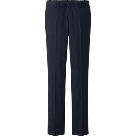 Uniqlo-Women-Stretch-Straight-Pants-$40
