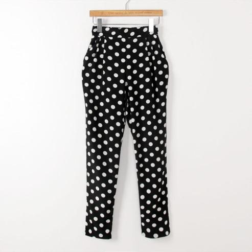 Polka Dot Haren Pants, JVL, $20
