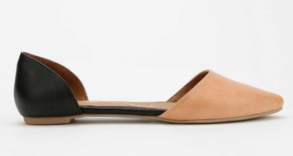 Jeffrey Campbell In Love Leather D'Orsay Flat $90