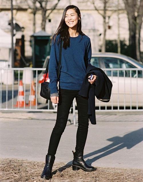 Liu Wen Moto Boots
