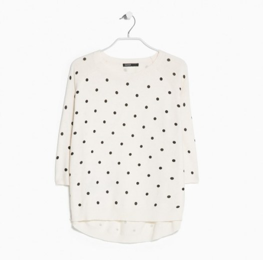 Mango-Wool-Polka-Dot-Sweater-$50