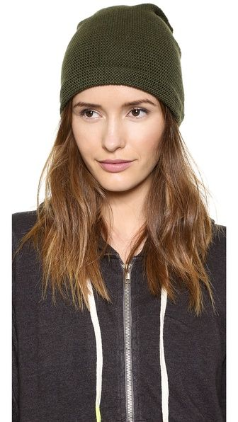 Purl Knit Slouch Beanie ShopBop $44