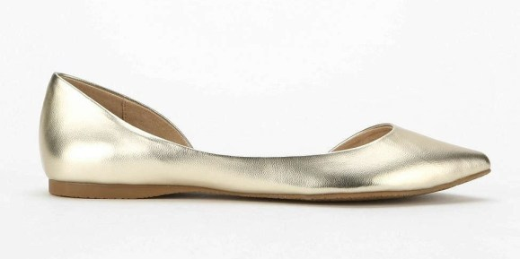 Steve Madden Elusion Leather D'Orsay Flat $60