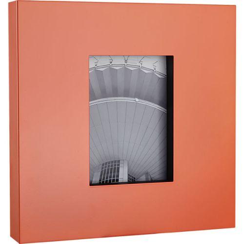 kat neon peach 5x7 frame-$35