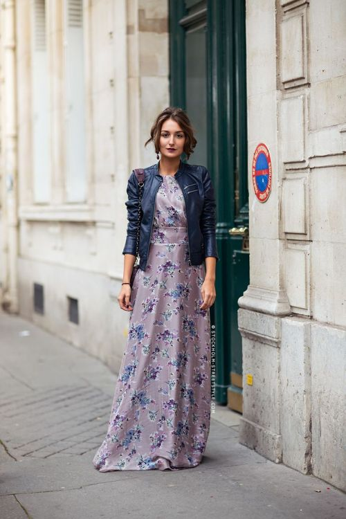 maxi dress + moto jacket-3