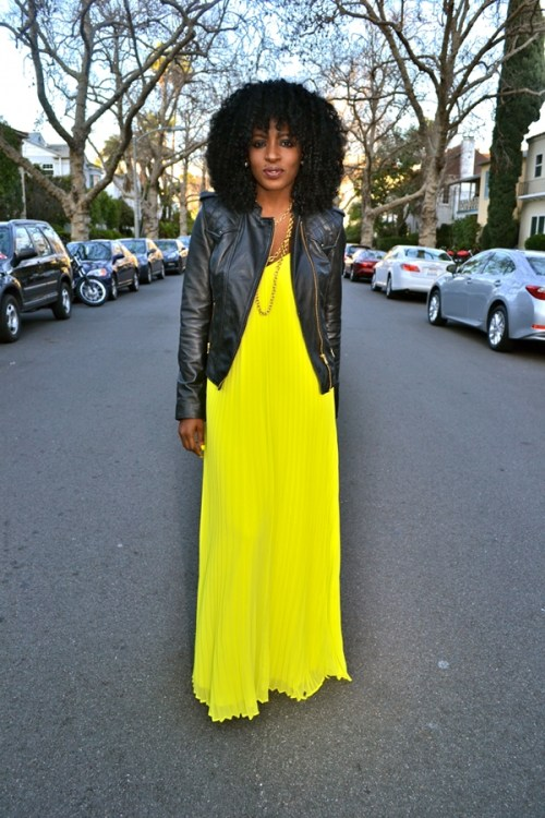maxi dress + moto jacket-9