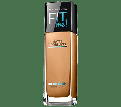 Maybelline-WarmHoney-FitMe-MattePorelessFoundation